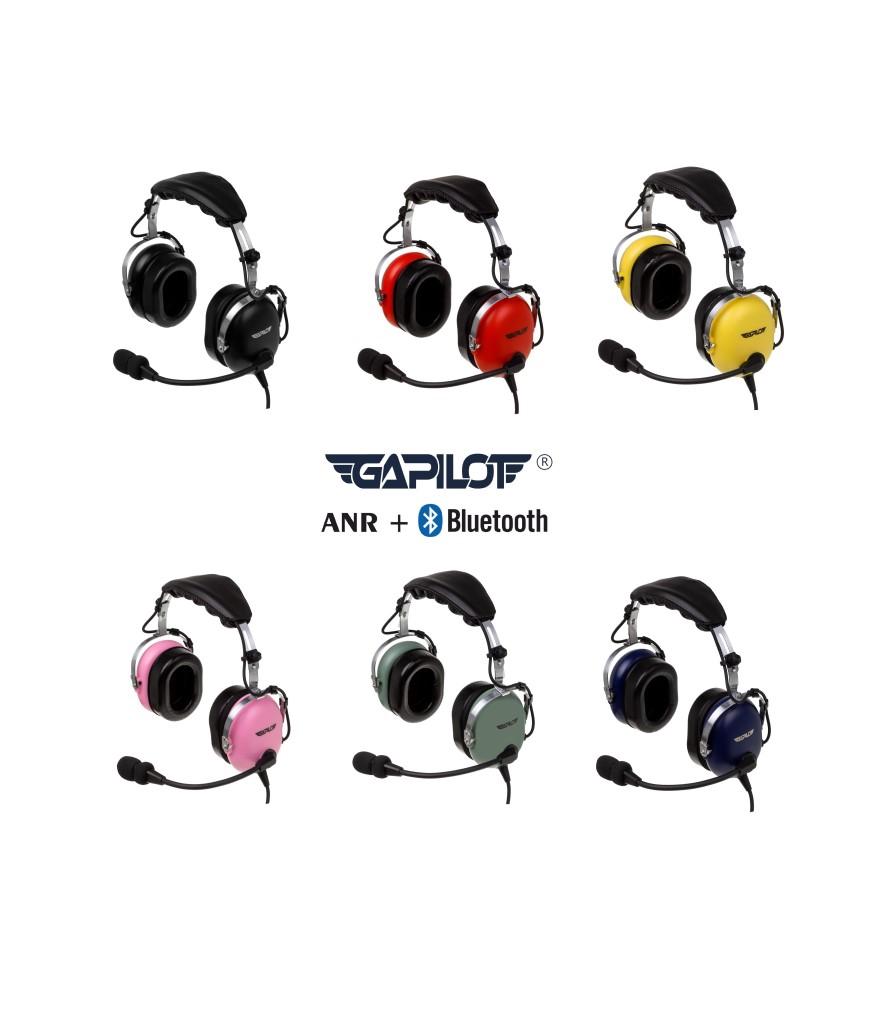Sluchawki lotnicze GA-1500 ANR Bluetooth 1