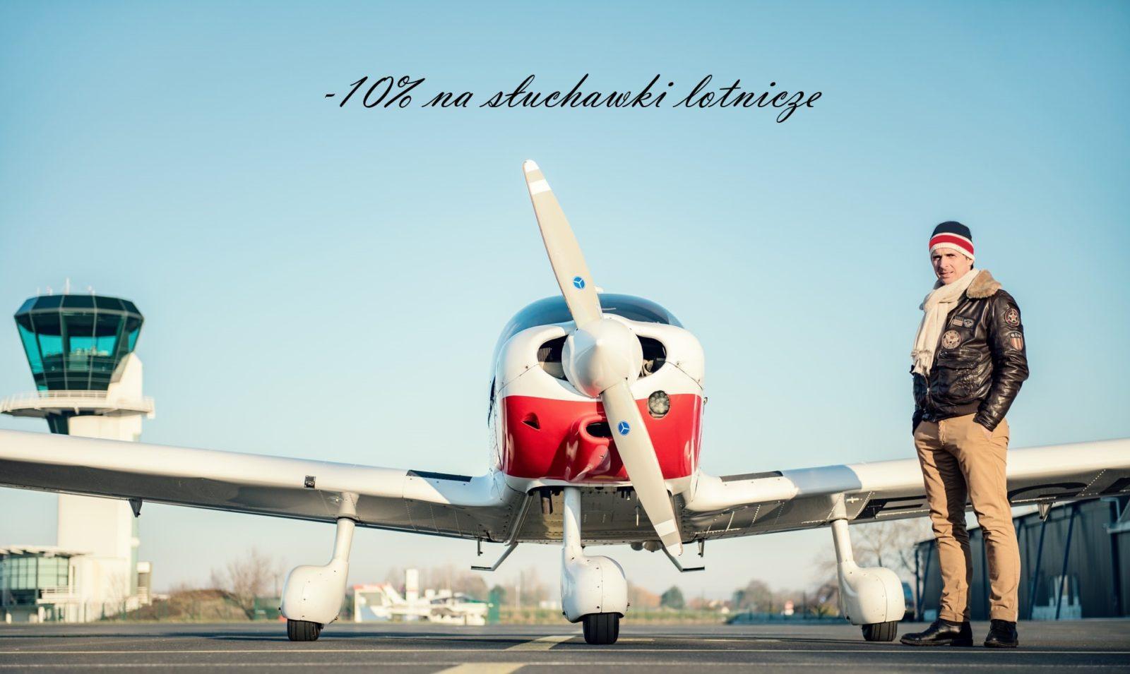 rabat promocja na sluchawki lotnicze