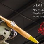 5 lat gwarancji na sluchawki lotnicze GAPILOT