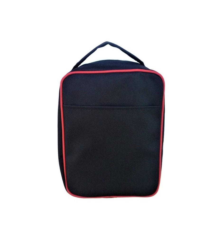 torba na sluchawki lotnicze czerwona