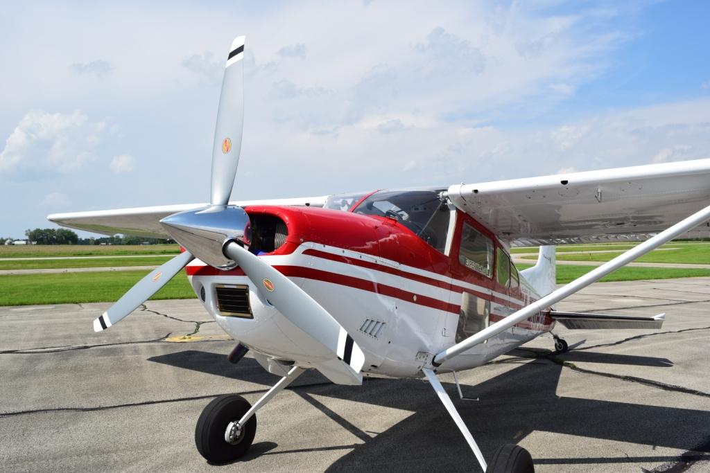sluchawki lotnicze cessna szkolenie PPL