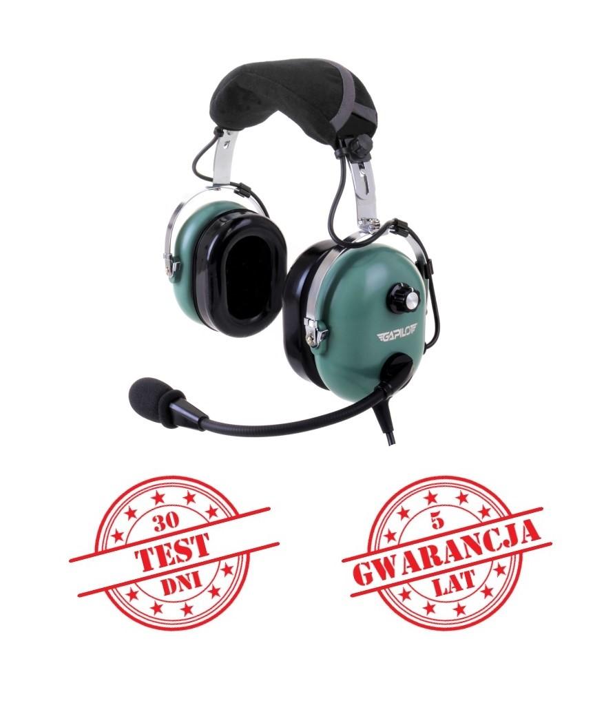 sluchawki-lotnicze-GA-500-deluxe-zielone