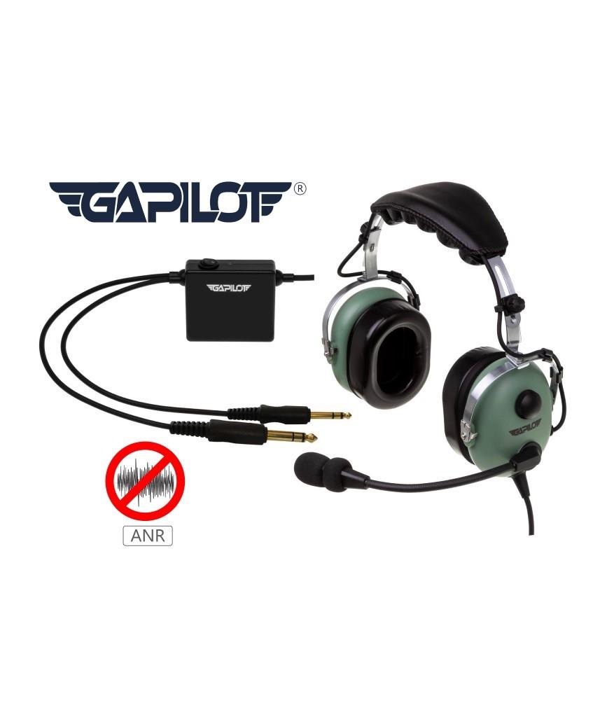 Sluchawki lotnicze z antywnym tlumieniem